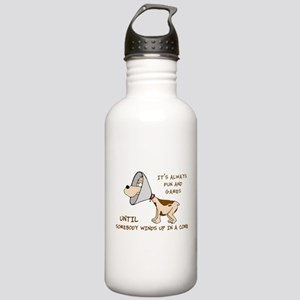 Dog Cone Stainless Water Bottle 1.0L